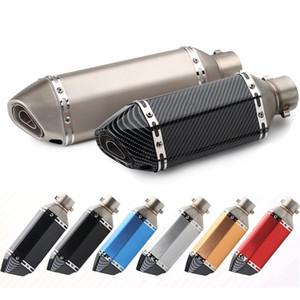Universal Motos de escape modificado sujeira Silenciador Cachimbo Scooter Pit bicicleta Motocross Fuga-pipe DBKiller Para etc