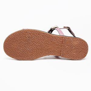 Новая мода Pearl Женщины Сандалии качества Женский плоские сандалии открытым носком Бич Обувь женская Элегантный розовый Sandalias Mujer