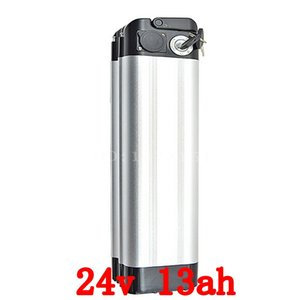 24V 13AH 350w top discharge electric bike battery use for samsung cell lithium battery power battery Aluminum housing