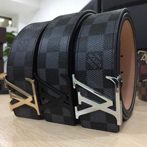Heißer Verkaufs-neuer Designer Famous Luxury Gürtel Männer Frauen Gürtel Männer Taillen-Bügel-echtes Leder-Legierung Schnalle Gürtel