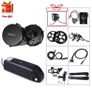 8FUN Bafang BBS02 BBS02B 48 V 750 W Mid Drive Motor bicicleta eléctrica Kit de conversión con 48 V 17.5Ah bicicleta batería Samsung celular