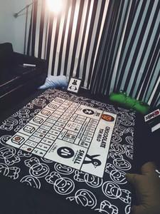 Детская ползать коврик прямоугольник ковры спальня пикник коврик Cartton обезьяна Детская игра ковер коврик противоскользящие ковры