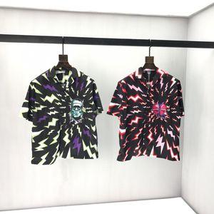 m-l-xl-xxl xxxl Renk: kısa kollu yuvarlak boyun paneli Tişört Boyutu baskı 2020ss ilkbahar ve yaz yeni yüksek dereceli pamuk siyah beyaz vN2