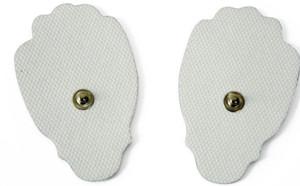 Cuscinetto per elettrodi TENS Riutilizzabile per unità TENS Massaggiatore elettronico digitale per impulsi