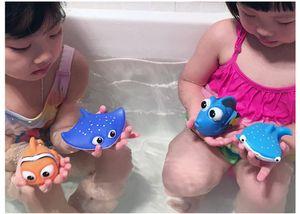 도매 안전 아기 목욕 물 장난감 부동 플라스틱 키즈 장난감 귀여운 수영 장난감 샤워 완구 아기 놀이 완구 WT002