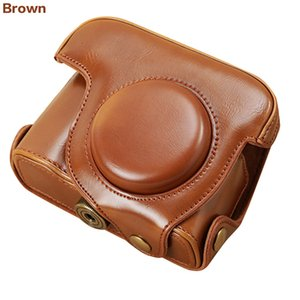 novo saco Camera Leather Case Capa para o saco da câmera Canon G16 G15 Powershot G15 moda transporte livre