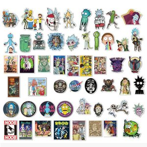 50Pcs set Drama Pickle Rick And Morty Stickers Decal For Snowboard Laptop Luggage Car Fridge DIY Styling Vinyl Home Decor F4