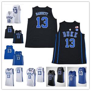 NCAA Joey Baker Basketbol Formalar Duke Blue Devils # 13 Joey Baker% 100 nakış Dikişli Koleji Basketbol forması Özel Herhangi Ad