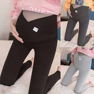Maternité Jeans lâche plus haute taille Leggings Pantalons Crayon Stretchy Vêtements de grossesse Printemps Eté maternité Pantalon plus