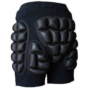 children kids Padded Skiing Snowboard Hip Buttocks Protective Pants Shorts Protector Gear shockproof anti-fall Hip protector