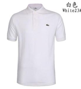2020 para hombre Ropa de diseño Polos Marca caballo cocodrilo bordado de los hombres de la tela carta de polo camiseta de la camiseta del collar tapas ocasionales camiseta de la camisa