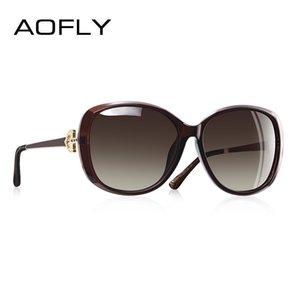 AOFLY disegno di marca di lusso delle donne occhiali da sole polarizzati 2020 Lady Occhiali da sole femminile strass Tempio Shades Eyewear UV400 A151 CX200707