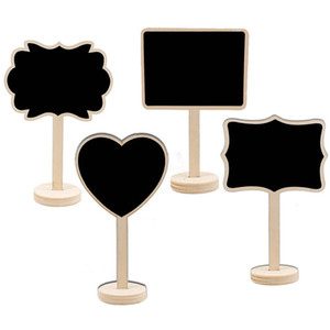 مصغرة السبورة الخشبية الجدول تقف القلب مستطيل علامات السبورة الزفاف الجدول رقم مكان بطاقة حزب اسكيمو بوفيه كعكة توبر