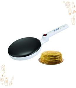 freies Verschiffen Elektrische Crepes Pizza Pancake-Maschine Antihaft-Grillpfanne Kuchen Maschine Küche Backen Kochen Werkzeuge
