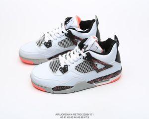 2020 Высокое качество Спорт Trainning Brandshoes дышащий 4 Ретро Menbasketball обувь Jumpman Designersport обувь Размер 40-46 A01 20022208W