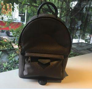 Gratuit Shpping! Femmes cuir Palm Springs Mini sac à dos enfants Sacs à dos les femmes d'impression en cuir Mini sac à dos 41560