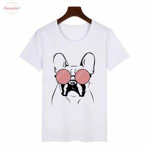 2020 New Summer Womens T Shirt French Bulldog Graphic Tees Women Harajuku T Shirt Anime Female Tops Aesthetic Clothes