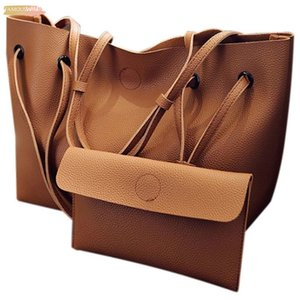 Women No Zipper Pu Leather Shoulder Messenger Bag Tote Purse Handbag Crossbody Satchel Hot, Brown