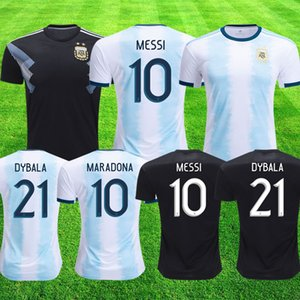 2019 2020 الأرجنتين كأس أمريكا الصفحة الرئيسية لكرة القدم الفانيلة ميسي ديبالا هيجين كرة القدم قميص AGUERO ICARDI MASCHERANO camiseta de futbol Kit