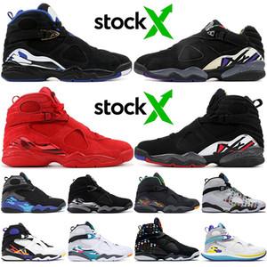 Atacado KINGS baratos Mike Bibby AFASTADO tênis de basquete 8 8s Top alta qualidade Jumpman Esporte DIA DE VALENTIM Sneakers Tamanho 13