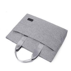 Pasta executiva Bolsa Homens de Moda portátil Viagem Nylon Notebook Laptop Bag