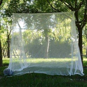 200x200x180cm el viaje de camping Mosquitera Repelente de Insectos Carpa Rechazar 4 poste de esquina del pabellón cortina de la cama cama cama colgante Carpa