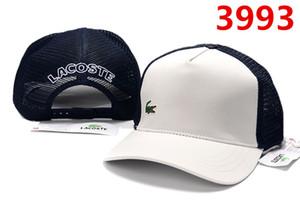 2019 الصيف الجديدة الرجال والنساء جودة عالية قبعة بيسبول أزياء العلامة التجارية قبعة الاتجاه صافي غطاء قابل للتعديل الكبار تنفس