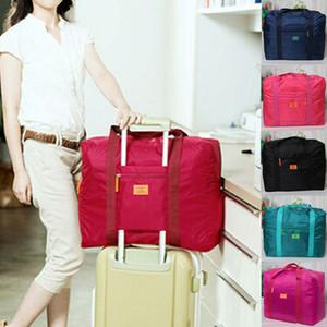 Marque de haute qualité pliant imperméable à l'eau de voyage vêtements organisateur pochette portable grande capacité sac de stockage de voyage
