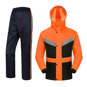 Waterproof Travel Hiking Adult Jacket Raincoat Women Waterproof Set Men Raincoat Hooded Outdoor Regenjacke Plastic Suit JJ