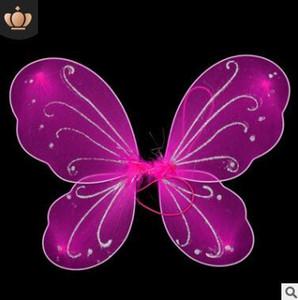 Kindermädchen-Prinzessin Fairy Butterfly Wings Halloween Fancy Dress Costume