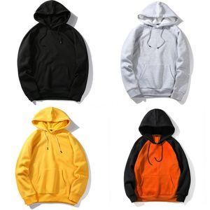 Forma Trendy stampata cuore con cappuccio da uomo con cappuccio Primavera Autunno felpe oversize casual cotone Hoody Coat Plus Size pullover # 775