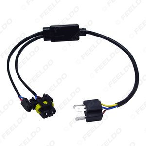 LEEWA Großhandel Simplified H4 / 9003 / HB2 Hallo / Lo Bi-Xenon-HID-Lampen Relais Harness Wiring Controller # 4514