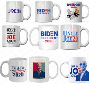 350ml The US Election Joe Biden Letters Ceramic Cup 2020 Presidential Election Coffee Cup Drinking Water Cups Kitchen Drinkware Tools D62904