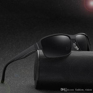 New Fashion Pilot Polarized Sunglasses for Men Women metal frame Mirror polaroid Lenses driver Sun Glasses with Black cases and box DR3574
