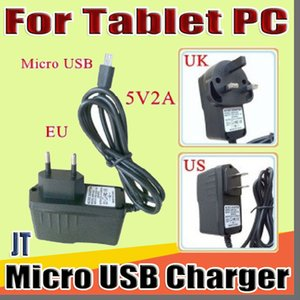 """JT Micro USB 5V 2A Charger Converter Power Adapter US EU UK plug AC For 7"""" 10"""" 3G 4G MTK6582 MTK6580 call Tablet PC phone Phablet B-PD"""