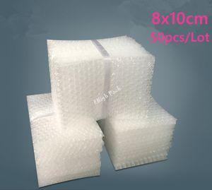 8 * 10 سنتيمتر 50Pcs 10mm Candoning Bubble Protection Bulsa Burbuja Packaging Foam Poping Verpackungen Schaum