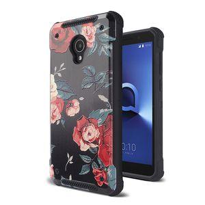 For Alcatel 1X Evolve LG V40 MOTO G7 PC TPU 2 in 1 printing Case Shock Back cover Shell Oppbag 300pcs at least