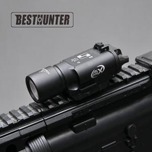 التكتيكية سوريفيري X300 الترا مسدس بندقية ضوء X300U 500 لومينز عالية الانتاج بندقية مضيا صالح 20MM Picatinny السكك الحديدية ويفر