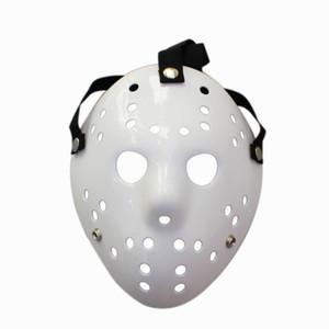 Black Friday Jason Voorhees Freddy Hockey Festival-Party-Vollgesichtsmaske Pure White 100 Gramm PVC Für Halloween Masken