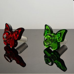 Butterfly 14mm quartz banger 14mm male bowl 18mm glass bong creative banger parts high quality funny oil banger glass water pipe dab tool
