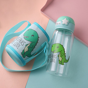 US STOCK Kids Tumblers Penguin Stainless Steel Water Bottle Drinking Bottles Double Wall Vacuum Insulated Cups With Cover FY4125