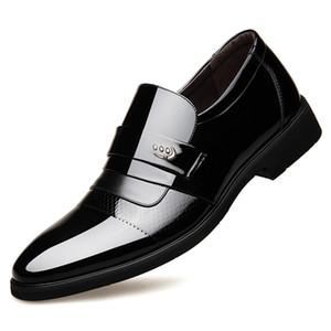 Klassische Kleid Schuhe Männer Lackleder Formelle Schuhe Männer Oxford Schuhe Für Männer Sapato Sozialen Masculino Zapatos De Hombre De Vestir Formal