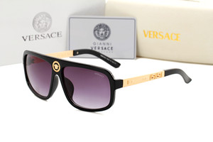 2240 Occhiali da sole di alta qualità per uomo donna Erika Eyewear Designe Occhiali da sole di marca Matt Leopard Gradient UV400