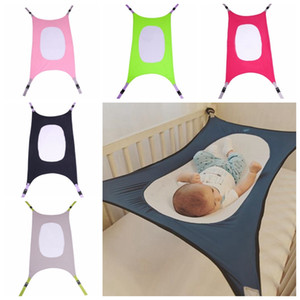 Baby Hammocks Detachable Crib Sleeping Bed with Adjustable Net Protable Folding Baby Swings Kids Hanging Sleeping Bed 5 Colors DHW2467