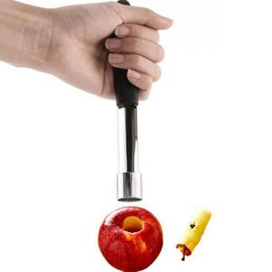 Новые нержавеющей стали сердечника Remover Фрукты бур груша яблоко Easy Twist PP ручки Кухня Инструмент Gadget ZZA1924