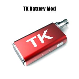 TK Battery Mod ZTCSmoke Vape Mods 400mAh Precalentar VV Batería para cartuchos de aceite grueso Vape Carts E Cigarette
