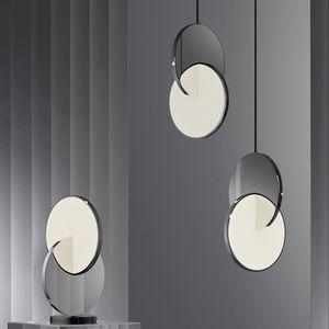 Modern Minimalist Style Personality Fashion Boutique Decoration Designer Model Study Study Office LED Specchio Chandelier