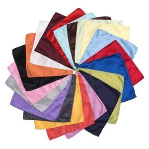 패션 손수건 나비 넥타이 솔리드 Cravat 나비 포켓 어린이 남성 여성 캐주얼 Cravat 선물 넥타이