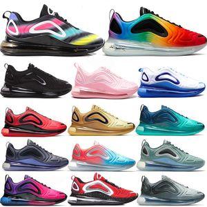 Nike Air Max 720 with box Новый стиль прибывают кроссовки для мужчин Kpu Athletic Sport Zapatillas Hombre Прогулки дизайнер обуви Обувь кроссовки Eur 36-45