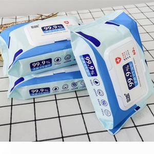 Wet Wipes Kiling 99,99% di Germ all'ingrosso Wet tessuti per la pulizia a mano Wet Wipes Disinfection- 60 Salviettine Confezione FS9515